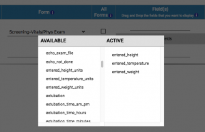Configure Reports with Drag and Drop